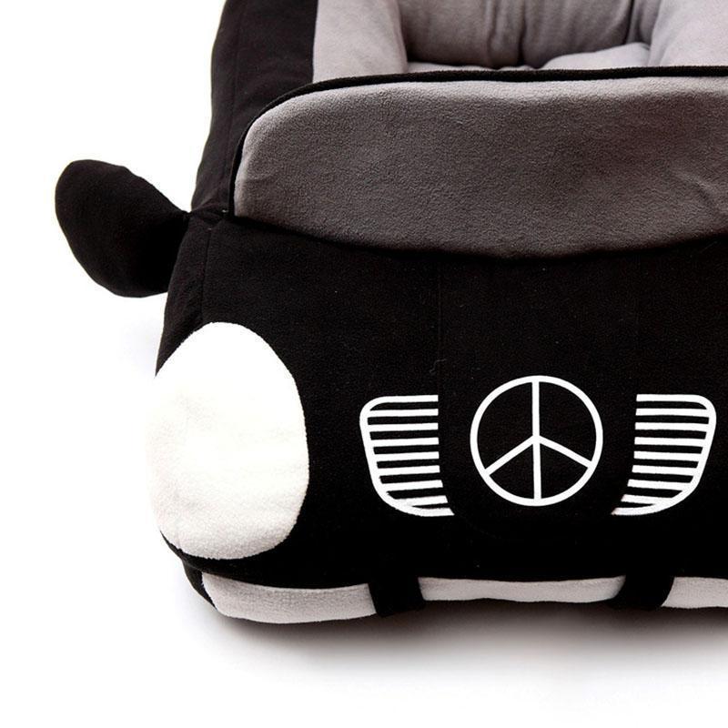 race car dog bed
