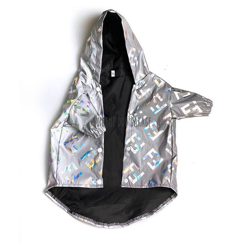 fendi dog raincoat