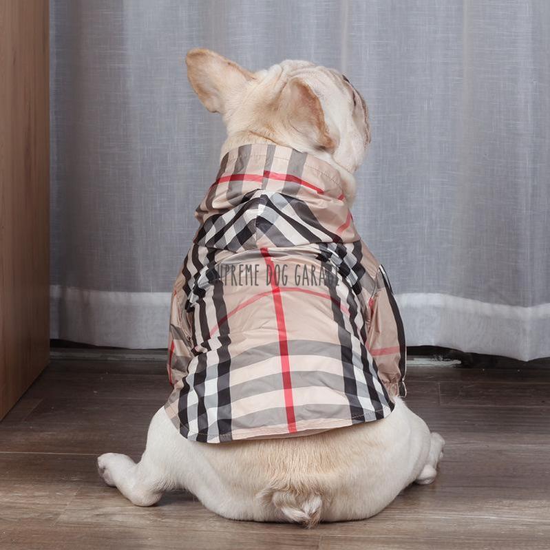 dog raincoat with hood