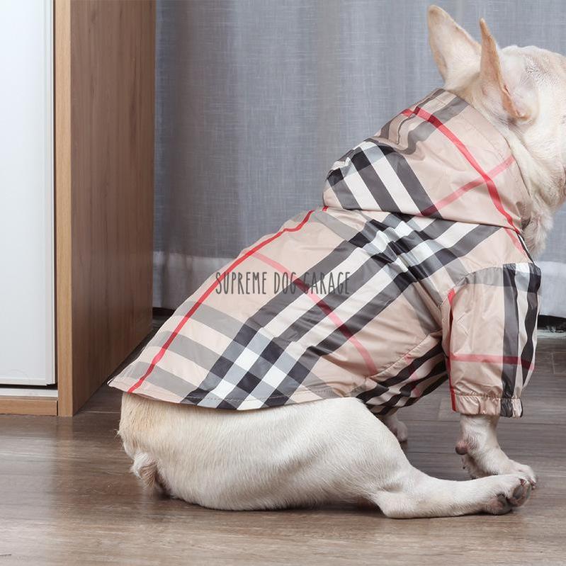 burberry dog raincoat