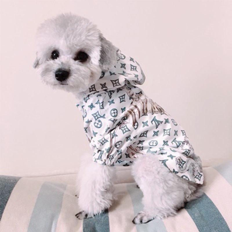 lv dog raincoat